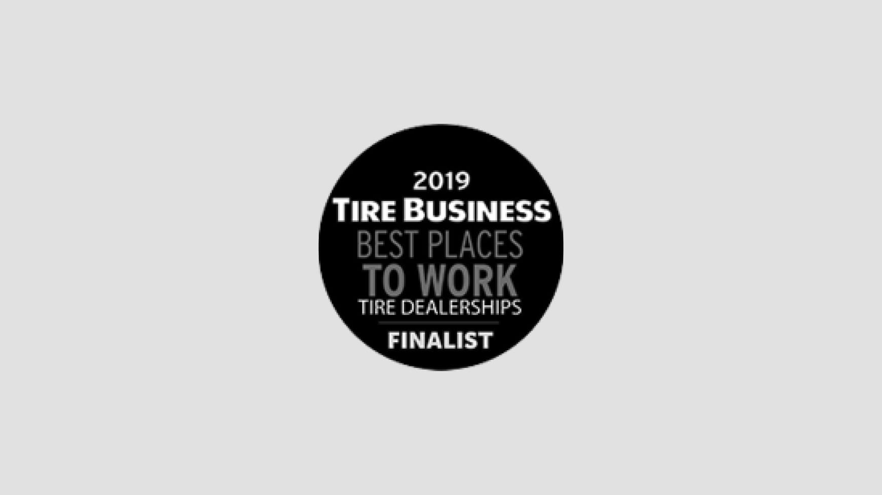 Tire Business Magazine Best Places to Work Finalist