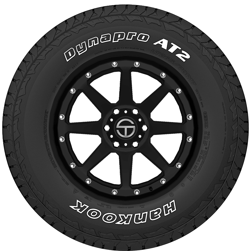 Hankook Dynapro AT2 RF11 all/_ Terrain Radial Tire-LT225//75R16 115S 10-ply